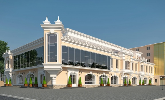Shopping center in Gelendzhik